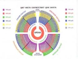 Нижегородский цирк схема зала с номерами мест цена